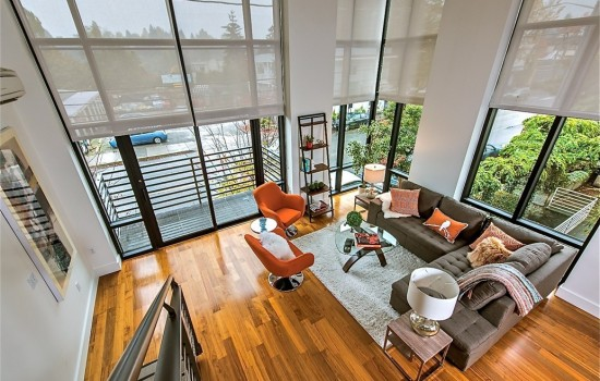 Madison Valley Corner Loft