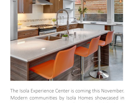 Coming Soon: Isola Experience Center