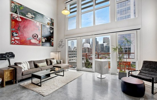Full Height Loft at Veer
