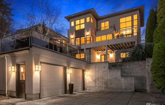 Queen Anne Contemporary Built for Entertaining