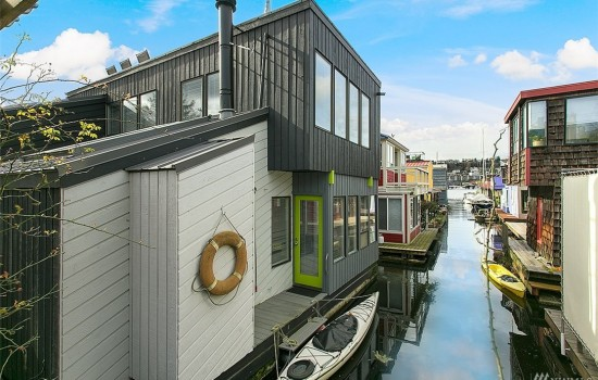 Jessup Designed Eastlake Floating Home