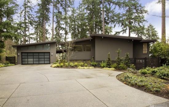 Fred Bassetti Mid-Century Modern on Mercer Island