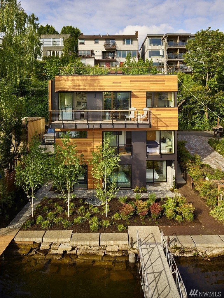Portage Bay house. Seattle, Washington