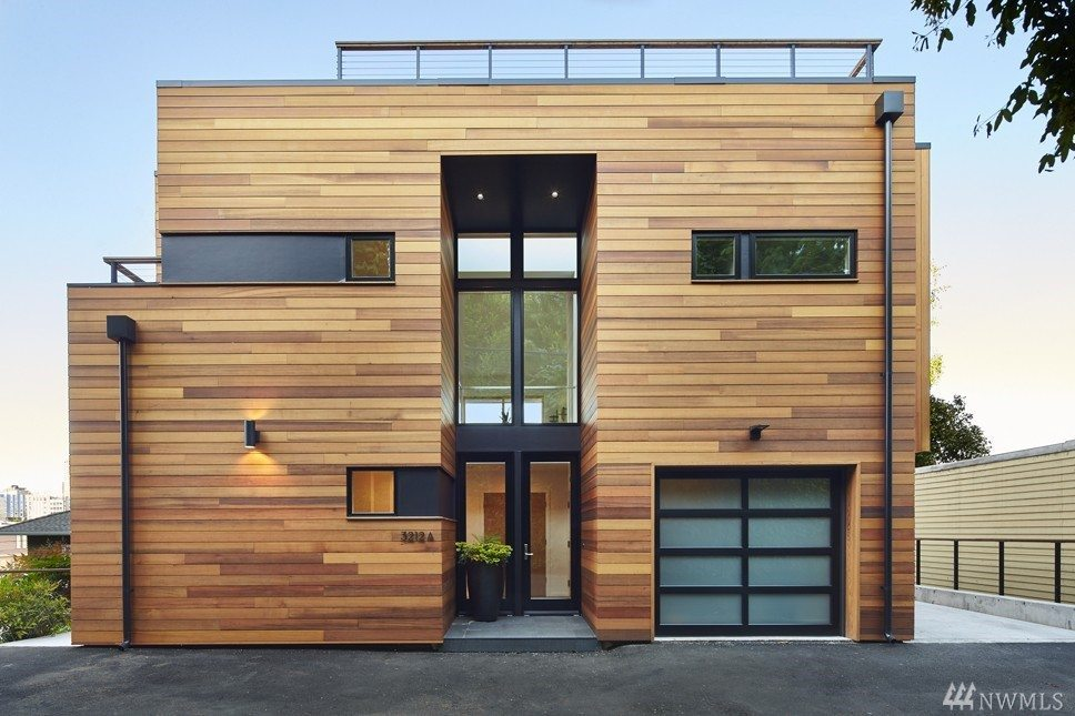 Portage Bay house.