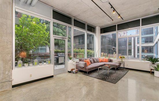 Modern Live/Work Belltown Loft