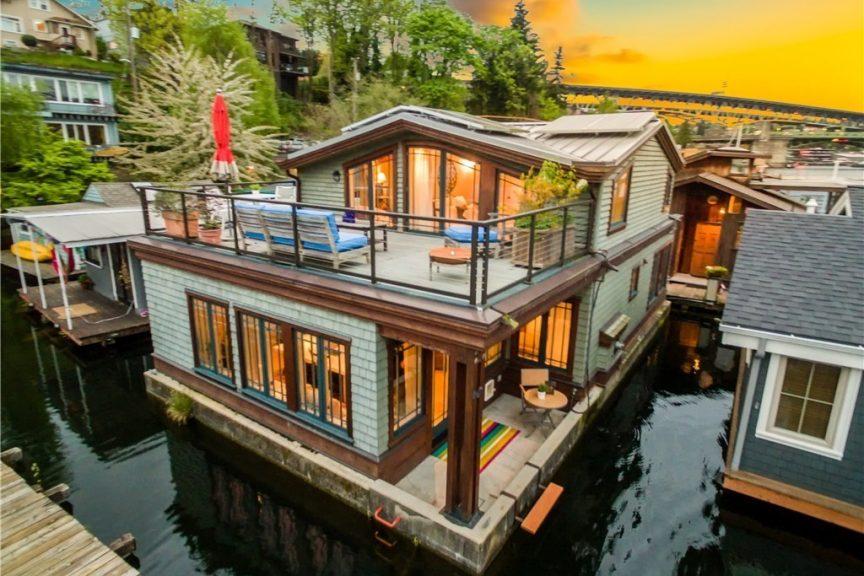Groovy Floating Homes Urban Living Download Free Architecture Designs Intelgarnamadebymaigaardcom