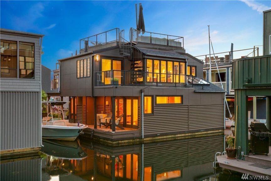 Peachy Floating Homes Urban Living Download Free Architecture Designs Intelgarnamadebymaigaardcom